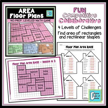 Area Floor Plan Game