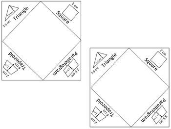 Area Foldable Journal Insert