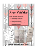 Area Formulas- Foldable
