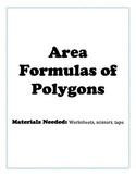 Area Formulas of Polygons