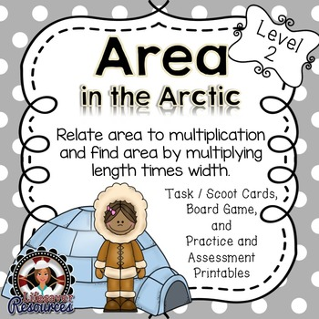 Area Game and Printables- Relate area to Multiplication