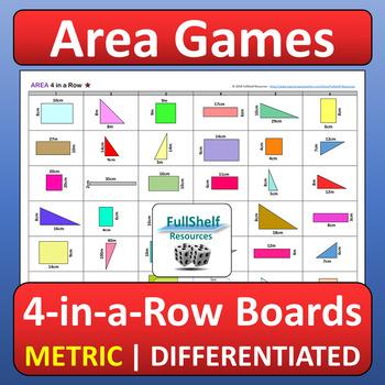 Area Games (Rectangles, Triangles, Composite Figures)
