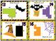 "Area - Halloween themed ""Monster Mash Area Bash"" Task cards"