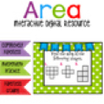 Area - Interactive Digital Resource for the Google Classroom