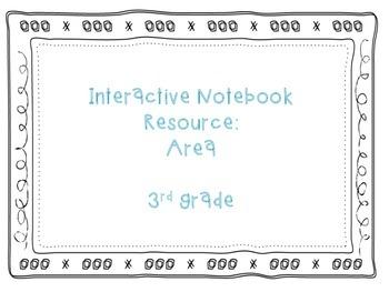 Area Interactive Notebook Resource
