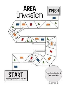 Area Invasion! A Math Board Game
