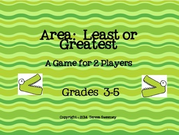 Area:  Least to Greatest Activity