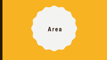 Area Lesson Bundle