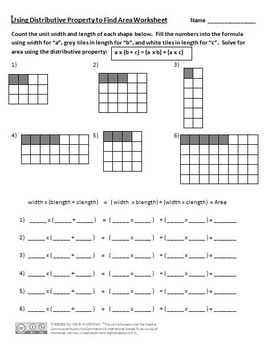Area Lesson Plans - 3rd Grade