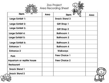 Area Math Activities.  Fun, engaging, and interactive.