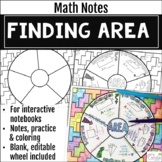 Area Math Wheel