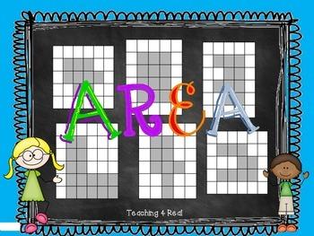 3rd Grade Area Practice Freebie