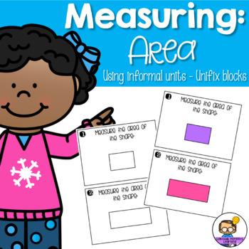 Area - Measuring using informal units