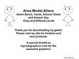 Area Model Aliens Game