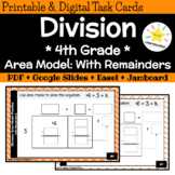 Area Model Division: 4th Grade Math Review (Dividing with