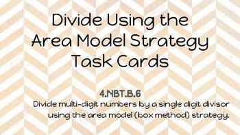 Area Model Division NBT.B.6