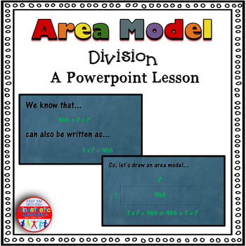Area Model Division Powerpoint