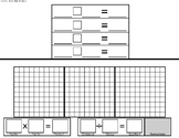Area Model Division Template