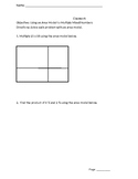 Area Model Guided Worksheet and Homework