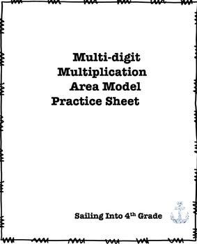 Area Model Multi-digit Multiplication