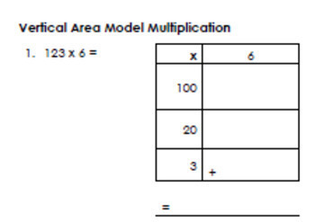 Area Model Multiplication