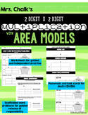 Area Model Multiplication - 2 digit by 2 digit