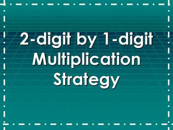 Area Model Multiplication Strategy