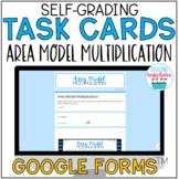 Area Model Multiplication Task Cards Google Form Distance