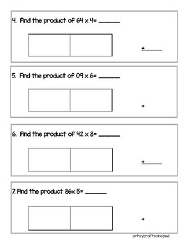 Area Model Multiplication with Multiplication Rules