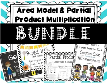 1 Area Model & Partial Product BUNDLE!
