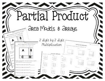 Area Model Worksheets 2 digit by 2 digit