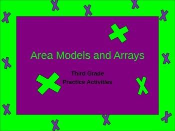 Area Model and Array Practice Activities