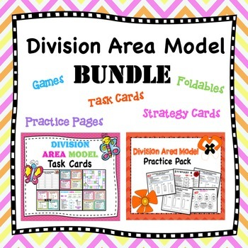 Division Area Model Worksheets Teaching Resources Teachers Pay