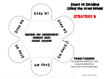 Area Model for Long Division Pack