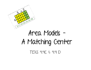 Area Models - A Matching Center