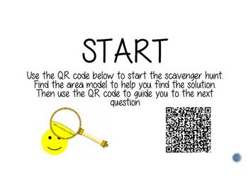 Area Models - A QR Code Activity