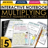 Area Model for Decimal Multiplication and Division Interac