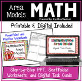 Area Models for Multiplication (Partial Product Multiplication)