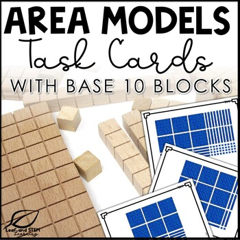 Area Model Multiplication and Division Task Cards