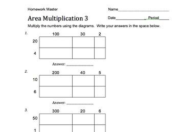 Area Multiplication: Teaching Multiplication with Understanding