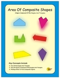 Area Of Composite Shapes - Triangles And Rectangles