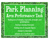 Area: Park Planning Geometry Performance Task -Real World Application