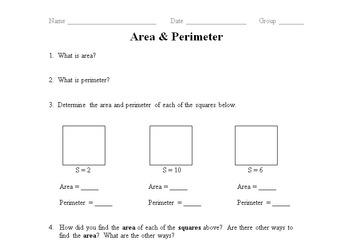 Area & Perimeter