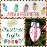 Area & Perimeter 3D Christmas Lights
