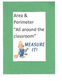 "Area & Perimeter ""All around the classroom"""