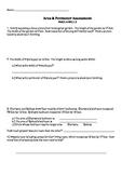 Area & Perimeter Assessment