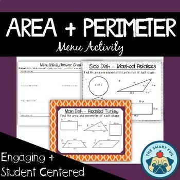 Area & Perimeter, Composite Figures, Shaded Region + Missi
