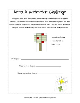 Area & Perimeter Challenge