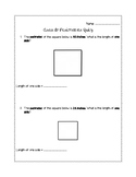 Area & Perimeter Assessment