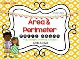 Area & Perimeter Challenge Journals
